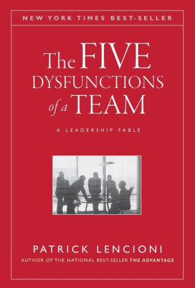 Five Dysfunctions Book Cover